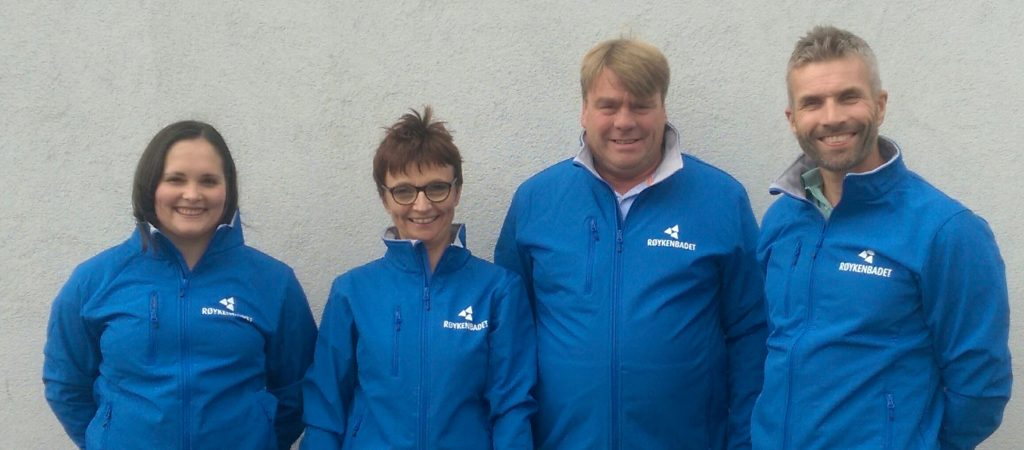 Fra venstre: Ruth Kari Krokeide, Heidi Thrones Westbye, Knut Forsnæs og Erik Schreuder
