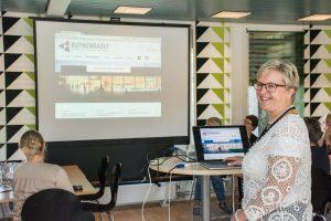 Eva Noren Eriksen publiserer Røykenbadets nettsider
