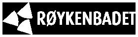 Hvit logo Røykenbadet