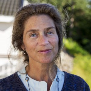 Helene Ingjertha Rønning er ansatt som servicevert på Røykenbadet