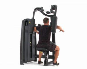 Med de ulike styrkeapparatene kan du trene alle de store muskelgruppene