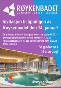 Vi ønsker alle velkommen til åpning 14. januar!