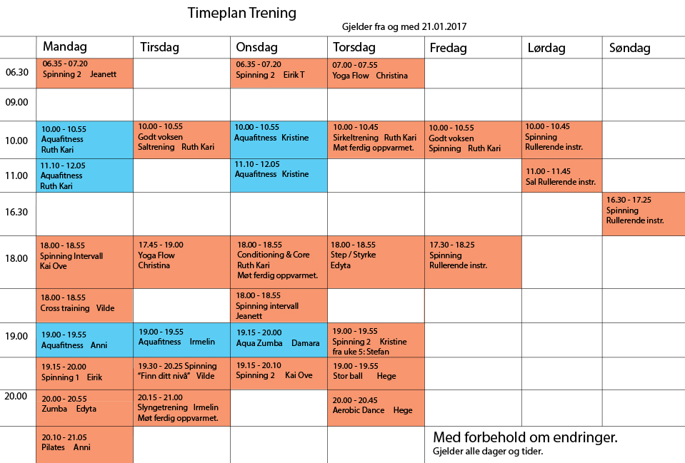 Timeplan-roykenbadet
