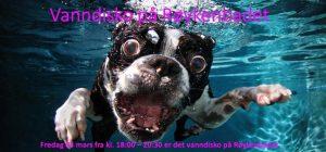 Fredag 03. mars blir det vanndisco på Røykenbadet fra 18.00-20.30!