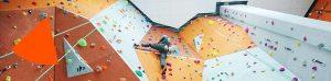 Bli med på nybegynnerkurs i klatring på Røykenbadet!
