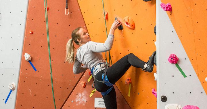 Siste klatrekurs for sesongen på søndag!