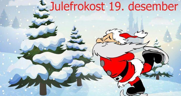 Julefrokost 19. desember