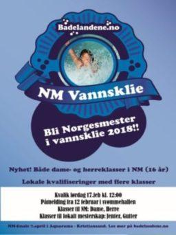 Bli med på kvalifisering til NM i vannsklie!