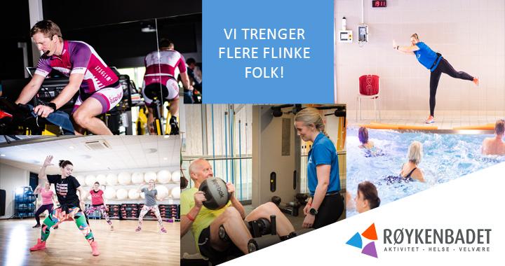 vI TRENGER FLERE FLINKE FOLK!