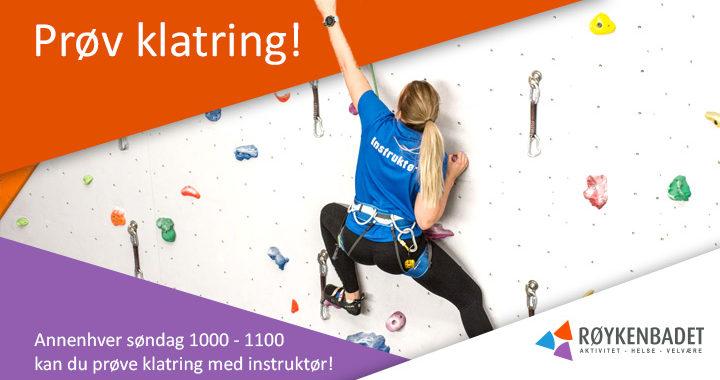 Prøv klatring