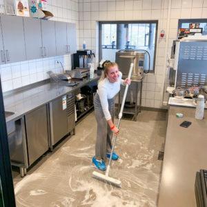 Vask av kjøkken